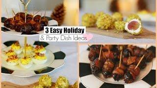 3 Easy Party Appetizers Recipe Ideas MissLizHeart streaming