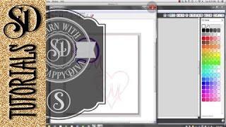 Oluşturma Siluet Studio ile Monogram #silhouettetutorials learnsilhouette #