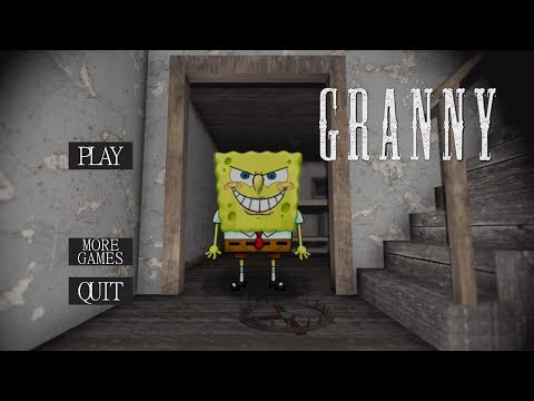 WHAT IF GRANNY WAS SPONGEBOB? | Granny (Horror Game)