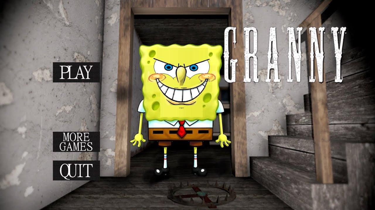 WHAT IF GRANNY WAS SPONGEBOB? | Granny (Horror Game)