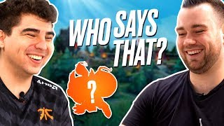 Who Says That?! - Bwipo vs Youngbuck | Episode 1