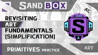(Человек Упрощение) Сессия 52 - Creative Sandbox [RUS/eng] (Пересмотр основ рисования)