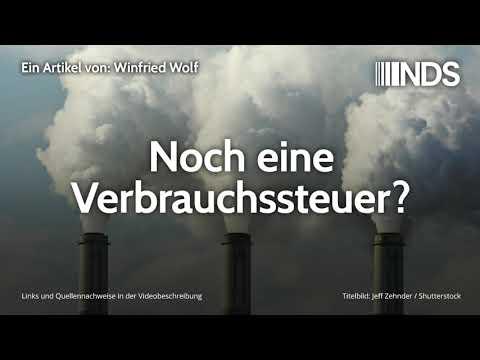 Noch eine Verbrauchssteuer? | Winfried Wolf | NachDenkSeiten-Podcast