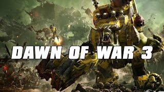 Dawn of War 3 Multiplayer ORKZ PARTY 3v3 Gameplay