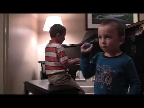 Harrison and Bennett Perform Serenade  Jim Brickman