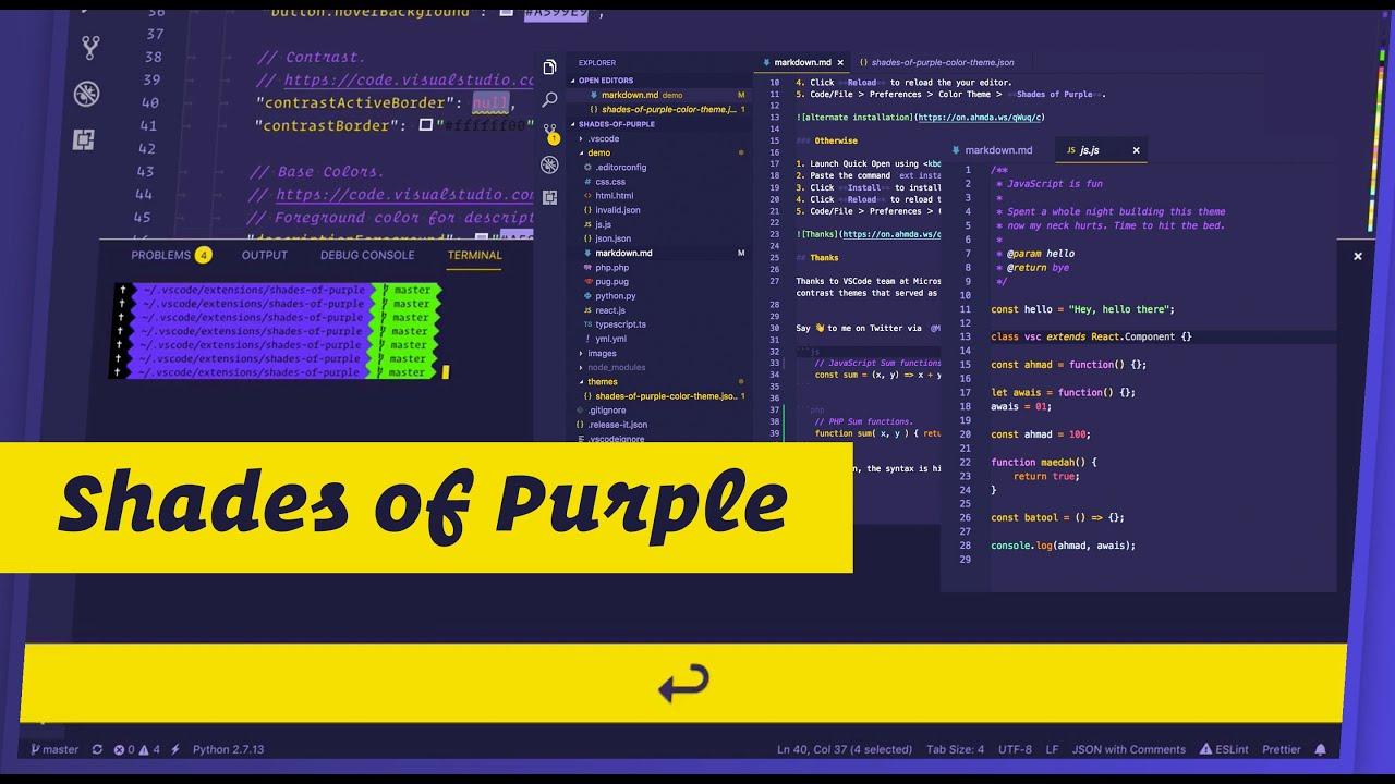 Best Visual Studio Code Theme