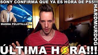 """SONY: """"YA ES HORA DE PS5"""" - Hardmurdog - Noticias - Playstation 5 - 2018 - Español"""