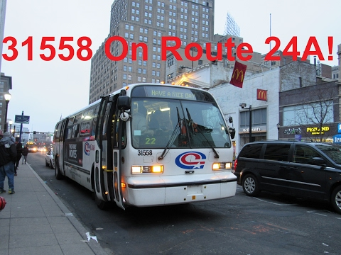 NeoplanDude Coach USA 2000 Nova RTS #31558 On Route 24A, To Jersey Gardens  Mall!
