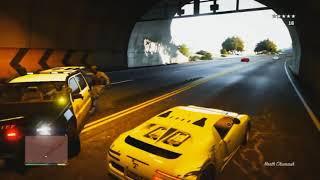GTA V - 5 Stars Police Chase