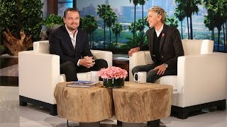 Leonardo DiCaprio is quite the daredevil, and he told Ellen about a few of his close calls!