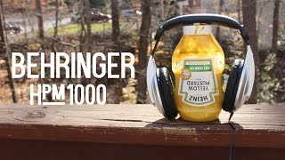 Behringer HPM1000 - $10 Studio Headphones | Review | OzTalksHW