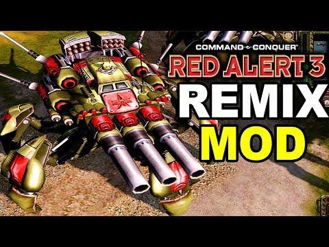 Soviet Mechs So OP They Broke C&C: Red Alert 3 Remix