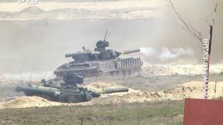 На Рівненському полігоні знову стріляють танки