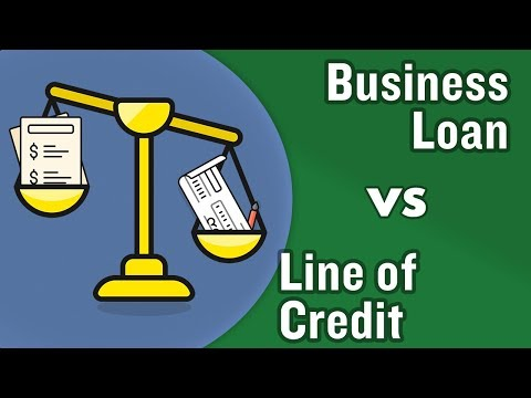 Business Loan or Business line of credit? Which is better?