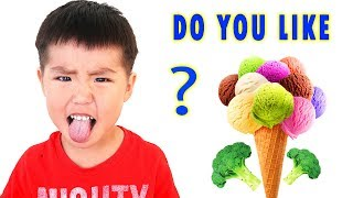 Do You Like Broccoli Ice Cream Nursery Rhymes Super Simple Song