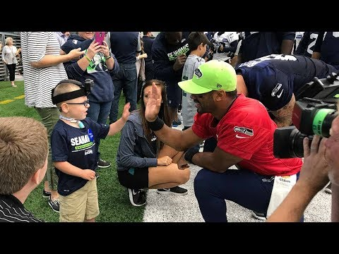 Jack meets the Seattle Seahawks!