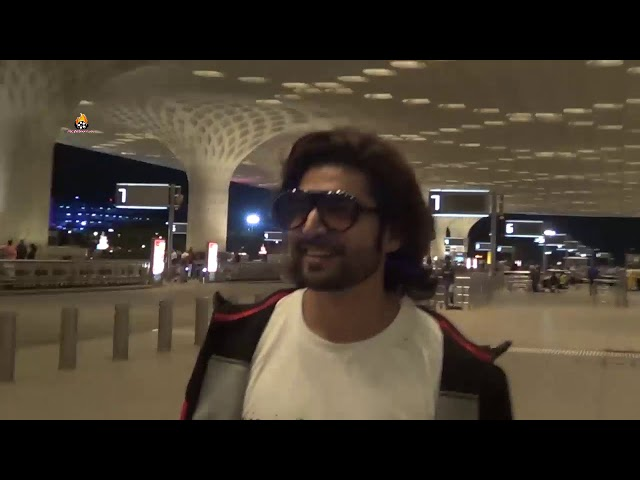 Gurmeet Choudhary spotted at airport