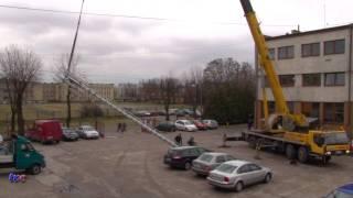 Zd-Wola MONTAŻ ANTENY TELEFONICZNEJ NA DACHU MSC 12.01.2012