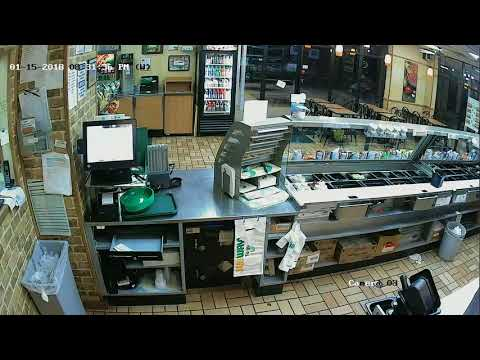 Armed Robbery at Subway in Midfield, Alabama