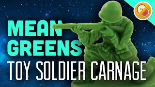 Toy Soldier Carnage! : The Mean Greens (Gameplay Funny Moments)