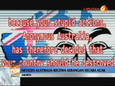 cyber war indonesia vs australia