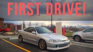FIRST DRIVE In The Supercharged Integra   Project Integra