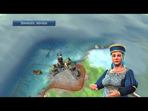 Let's Play Sid Meier's Civilization Revolution Japanese Technology Game 2 (1-2)