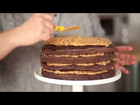 German Chocolate Cake - Freestylin' the #jenisbook