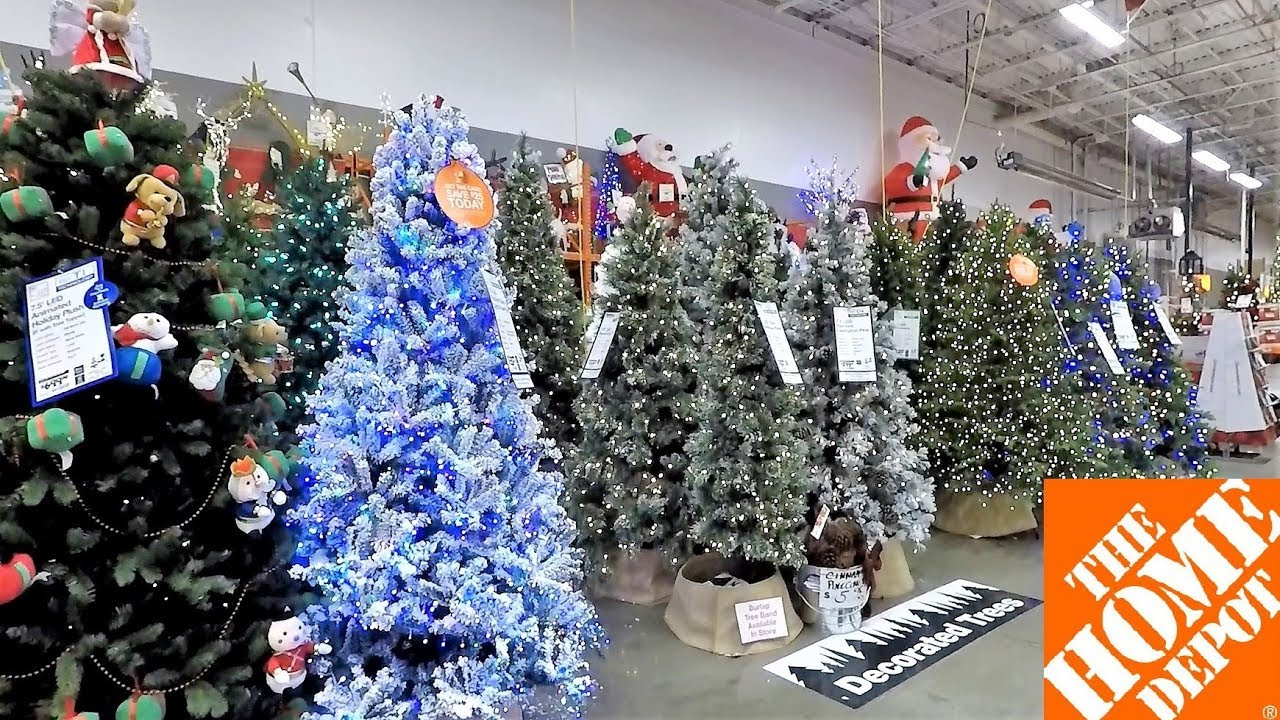 Home Depot Christmas Decorations.Home Depot Christmas Christmas Trees Inflatables Ornaments Decorations Home Decor Shopping