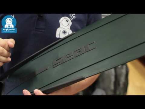 Seac Sub Shout S800 Soft Blade Fins - www.simplyscuba.com