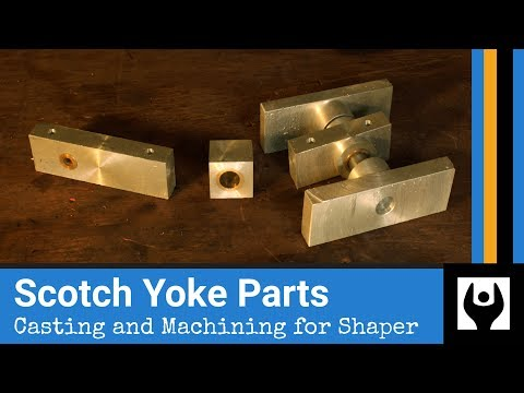 Scotch Yoke Castings and Machining for Gingery Metal Shaper