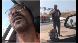Snoop Dogg Gives Homeless Man So Much Money He Retires From Corner