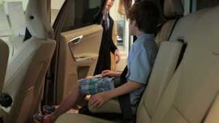 2013 Volvo XC60 Built-In Booster Seat: Holly Homer and Park Place Dallas Volvo