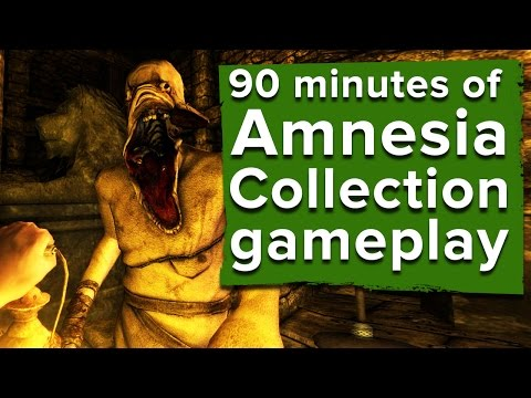 90 minutes of Amnesia Collection gameplay - Will it make Ian cry?