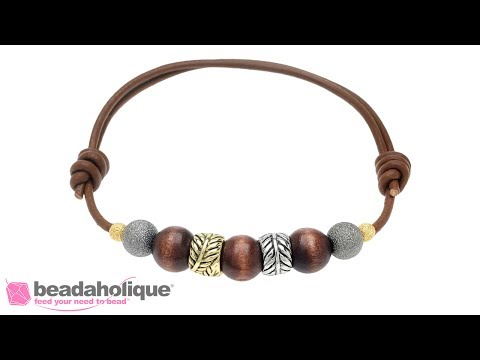 How to Make a Bracelet with Slide Knots<a href='/yt-w/fNKcAbB9DME/how-to-make-a-bracelet-with-slide-knots.html' target='_blank' title='Play' onclick='reloadPage();'>   <span class='button' style='color: #fff'> Watch Video</a></span>