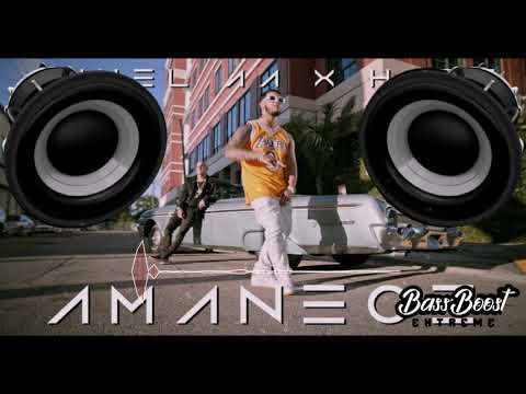 Anuel AA - Amanece (BASS BOOSTED)