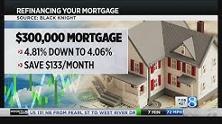 Mortgage rates drop opening refinance options