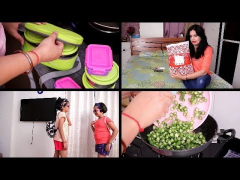 INDIAN MORNING ROUTINE | Kids tiffin box/breakfast | CLUB FACTORY HAUL Trendy and Fashion Products