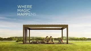 【Renson戶外休閒空間-卡瑪格系列】想要在家也能體驗不同的生活享受嗎?快來看這個!