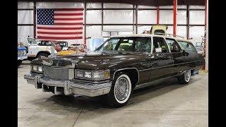 1974 Cadillac Fleetwood Wagon