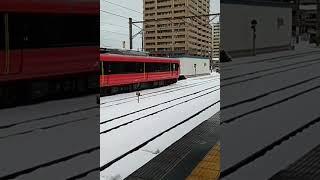 男鹿線 ハイブリッド ACUME 秋田発車