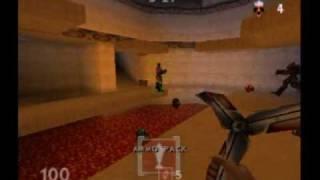 turok rage wars n64 bot deathmatch fire temple