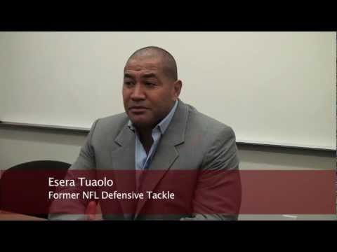 "Esera Tuaolo on ""Being True to Yourself"""