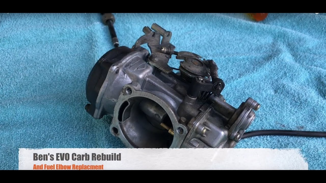 Harley Davidson Keihin EVO Carb Rebuild and Repair
