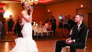 Amazing!! - Bride sings Etta James - At Last