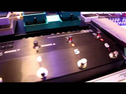 NAMM 2015 - BOSS - New ES8 Pedal Switching System