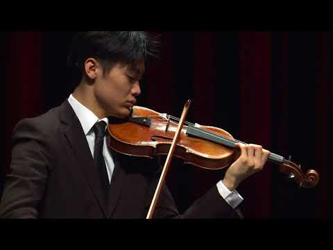 TAKUMI TAGUCHI  Menuhin Competition Senior first rounds - day 2