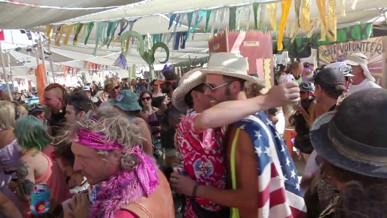 Burning Man orge