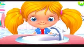 Baby Care Bath Time Toilet Training & Have Fun with Bubble Party _ Crazy Clean Fun Kids Games HD !!