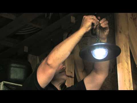 Nature Power Products - Hanging Solar Shed Light